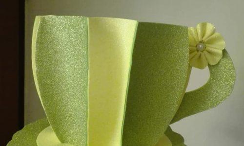 Tazzone in gomma crepla con diversi colori