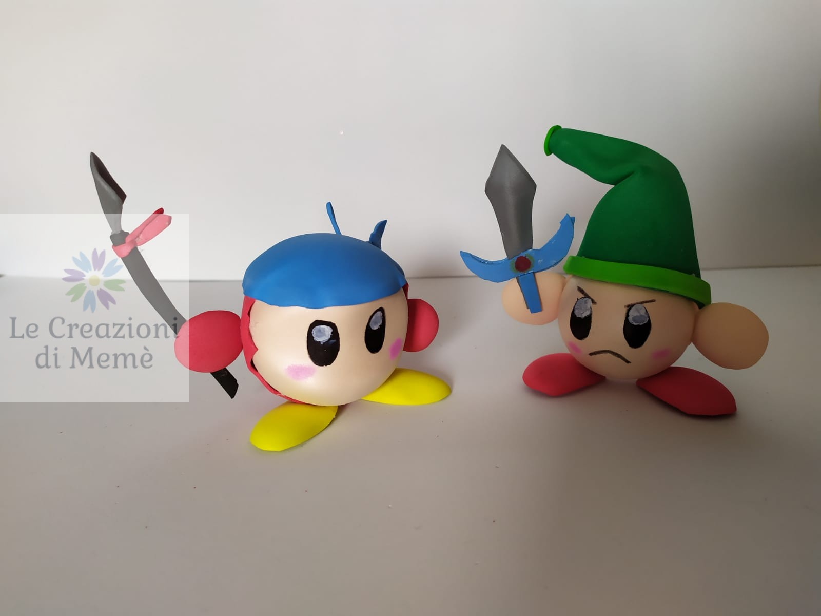 Personaggi Kirby e Bandana Wee
