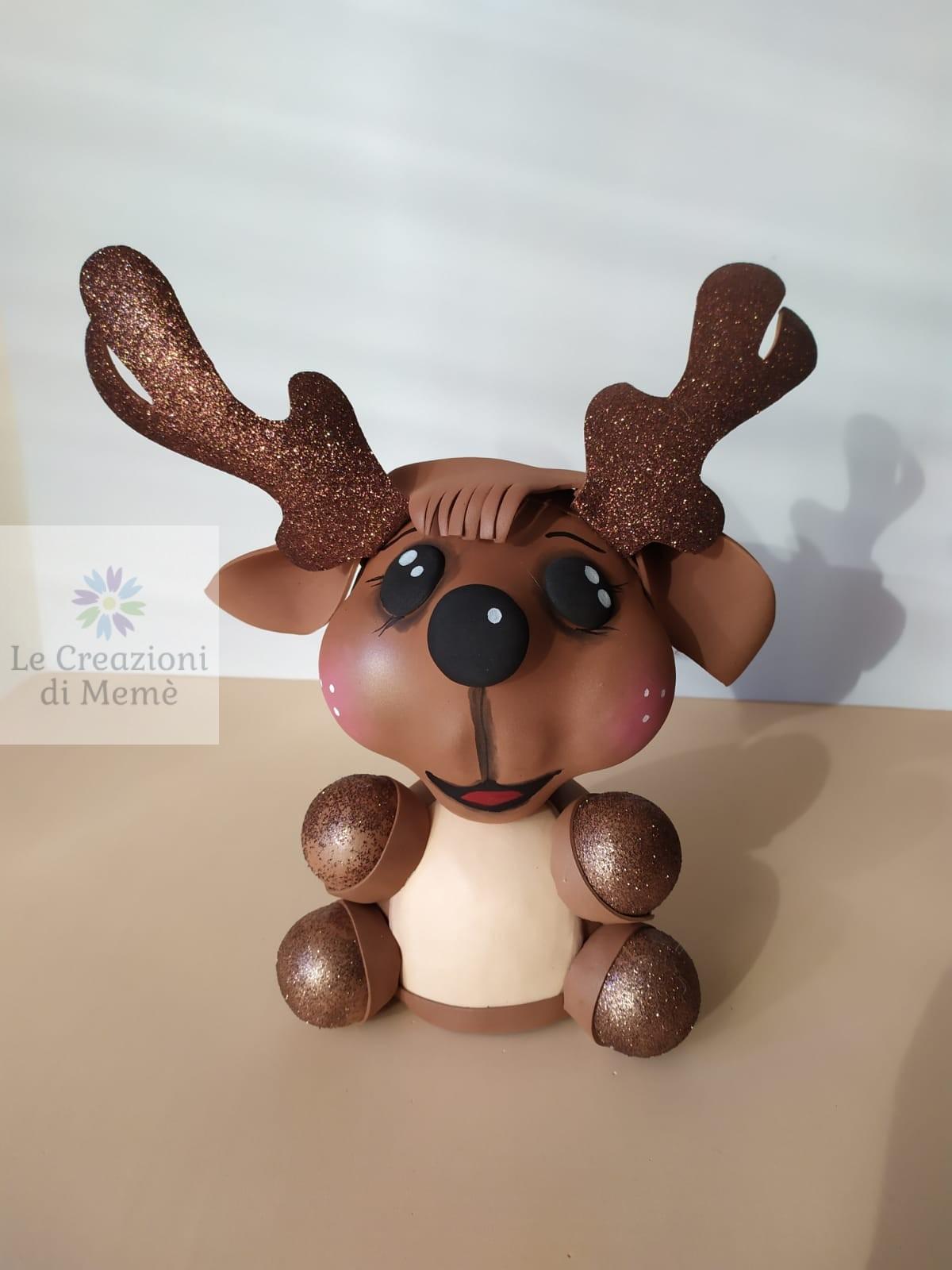 Cupido la renna di Babbo Natale