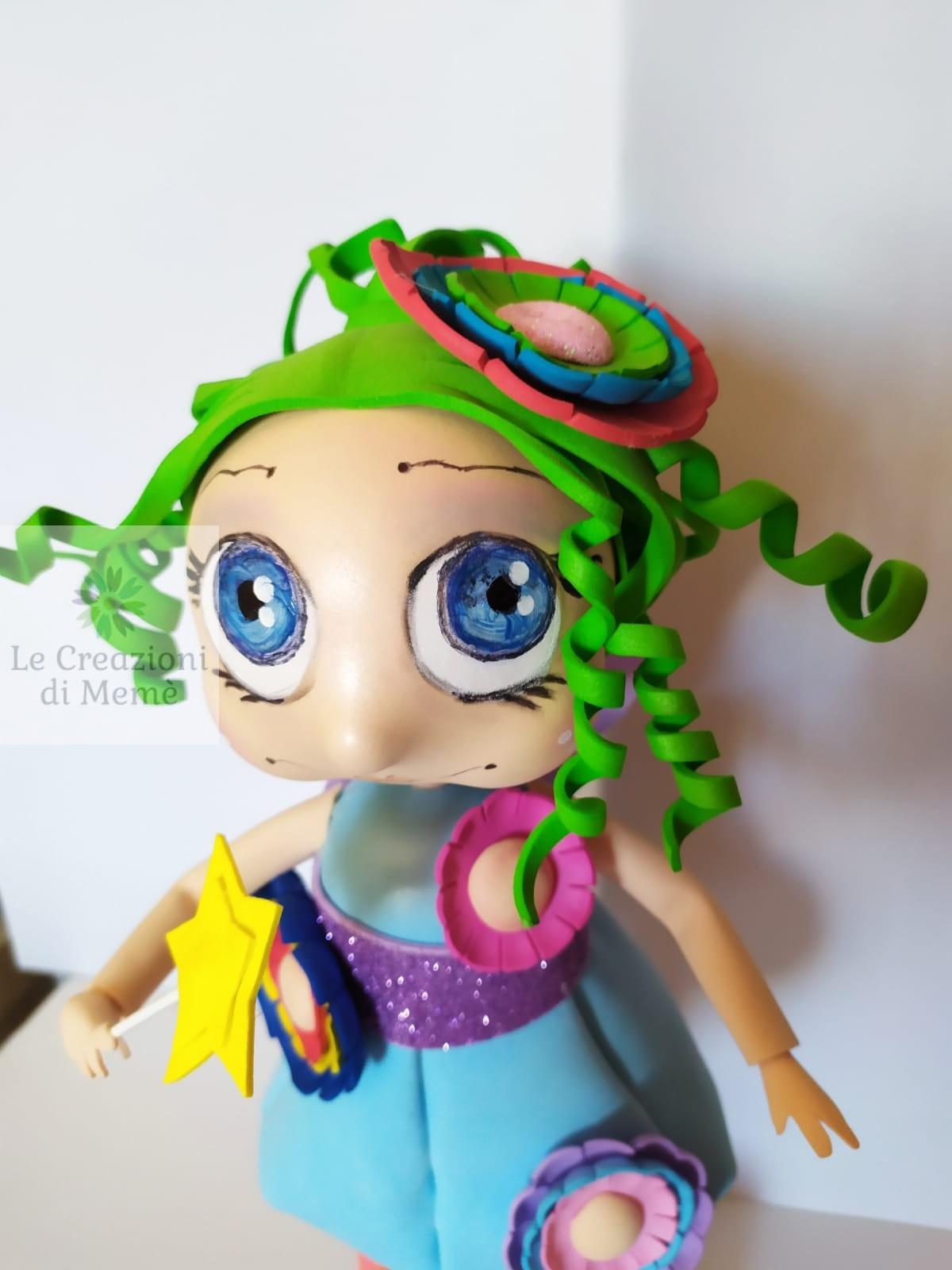 La fatina dai capelli verdini