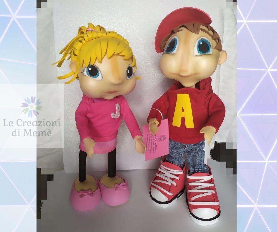 Alvin e Brittany The Chipmunks
