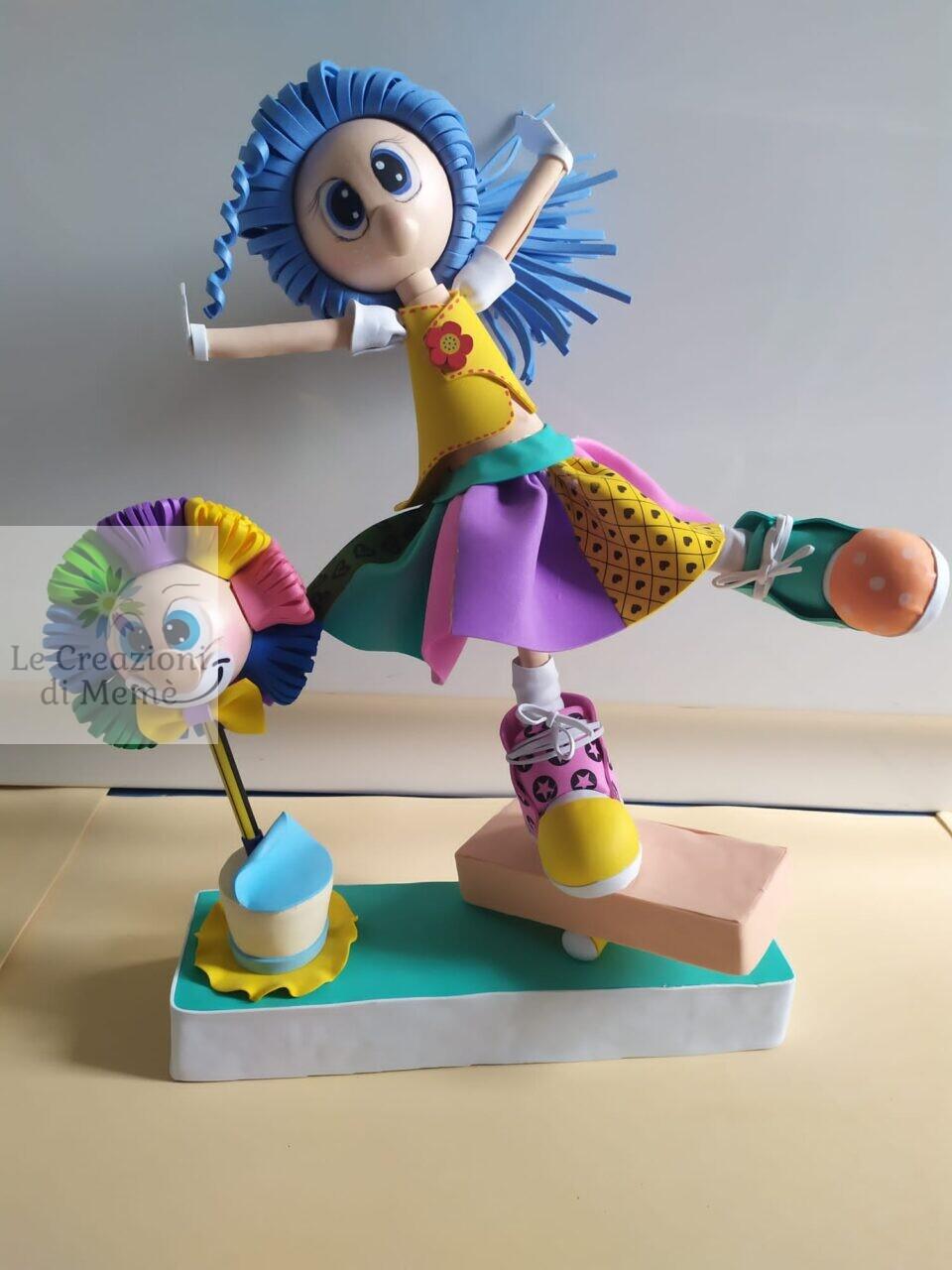 Clown fofuchas con clown penna